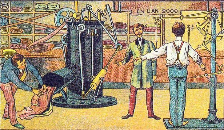 17 Crazy Illustrations That Show How People Imagined the Future 100 Years Ago
