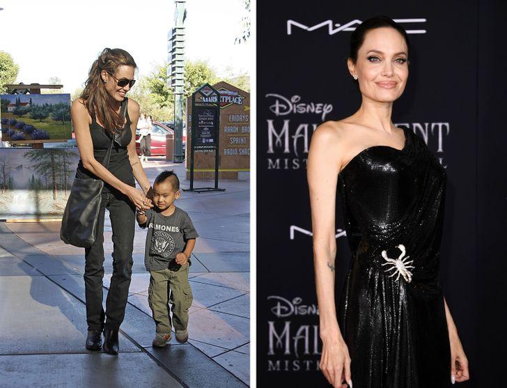 Why Angelina Jolie Looks Like a Goddess Even as a Punk or a Housewife