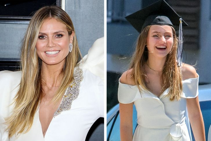 What Children of the Most Beautiful Women of Today Look Like (Heidi Klum's  Daughter Is Charming)