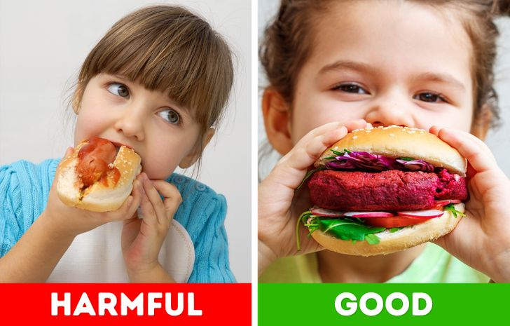 15 Foods Children Shouldn't Eat and What You Can Give Them Instead