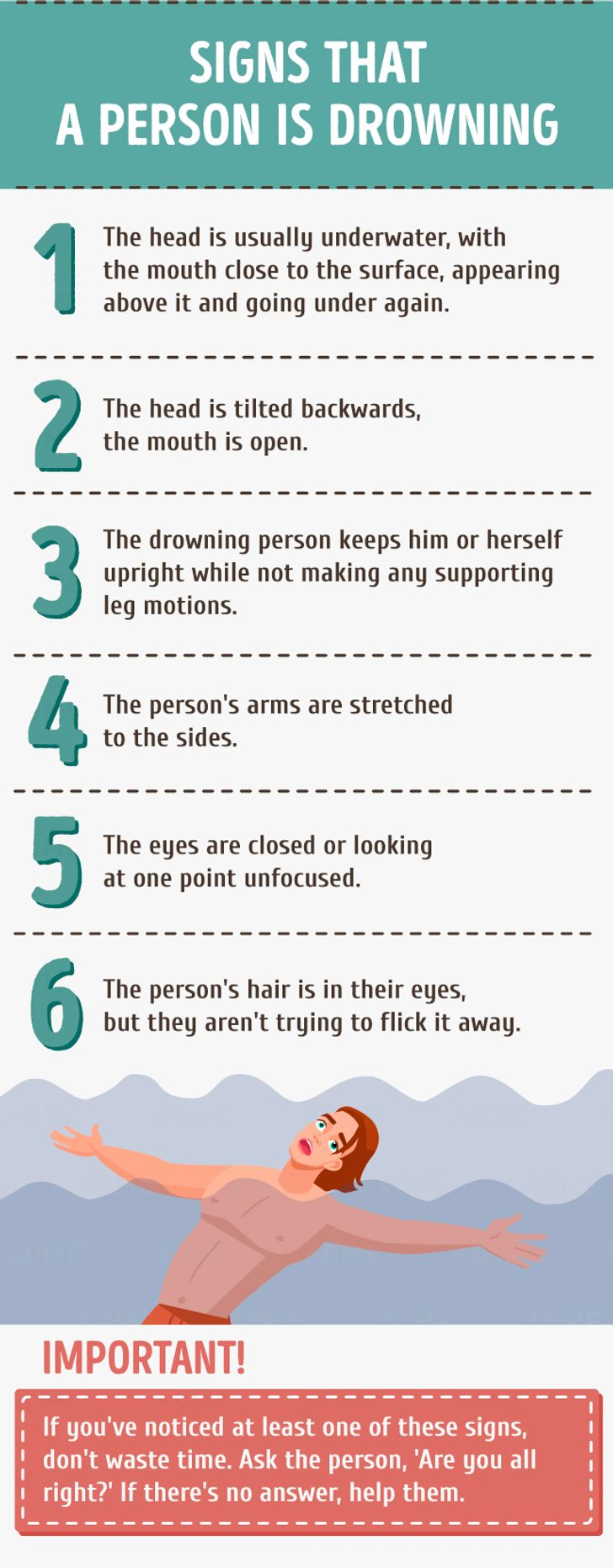 The ultimate guide for helping adrowning person