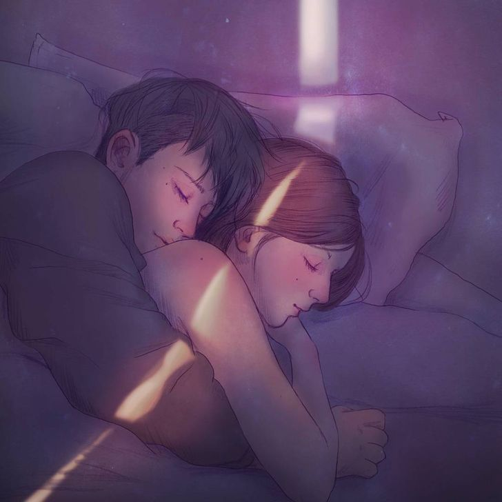 28Incredibly Gentle Illustrations That Show What Love Is