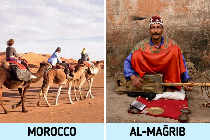 11 Countries With Real Names Different Than The Ones Mentioned in World Map