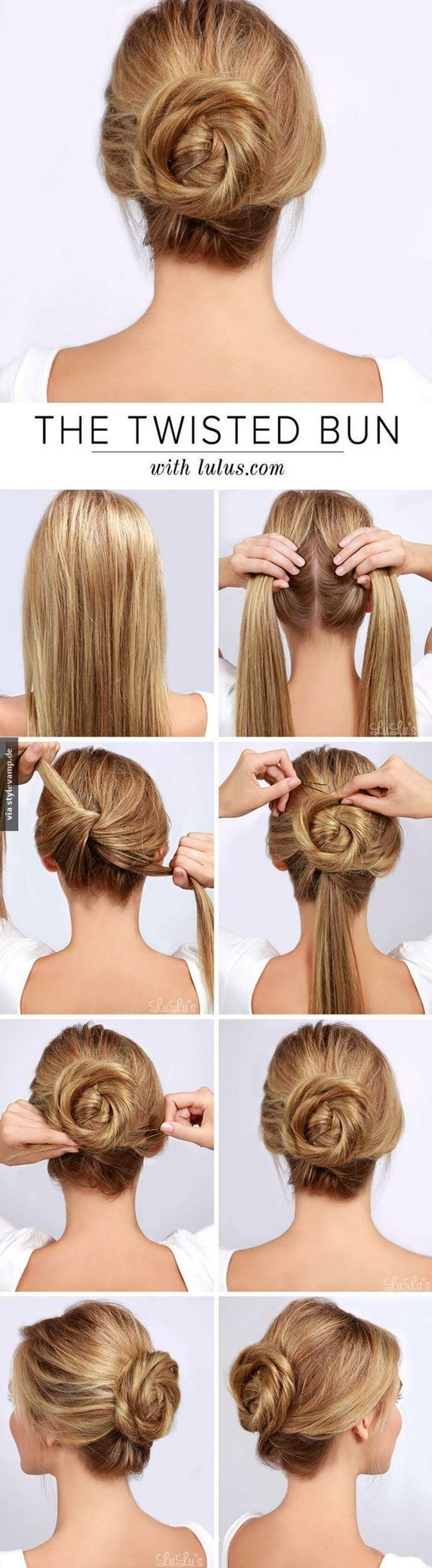 10 Easy Hairstyles For A Gorgeous Look