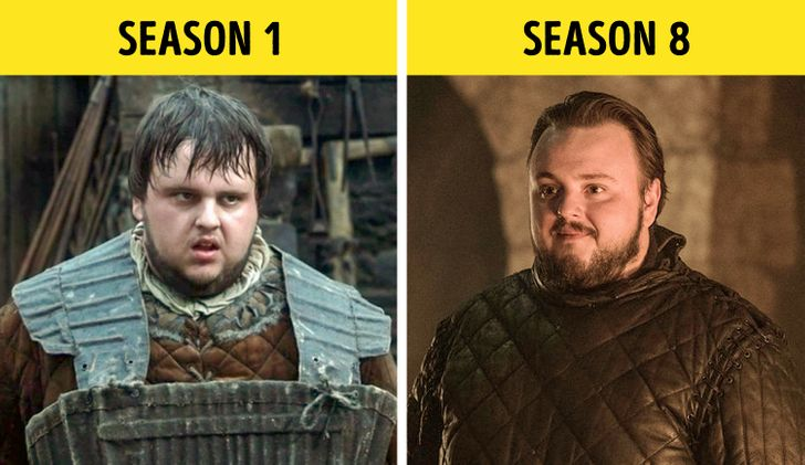 """Look at How Much """"Game of Thrones"""" Characters Have Changed Over 8 Seasons"""