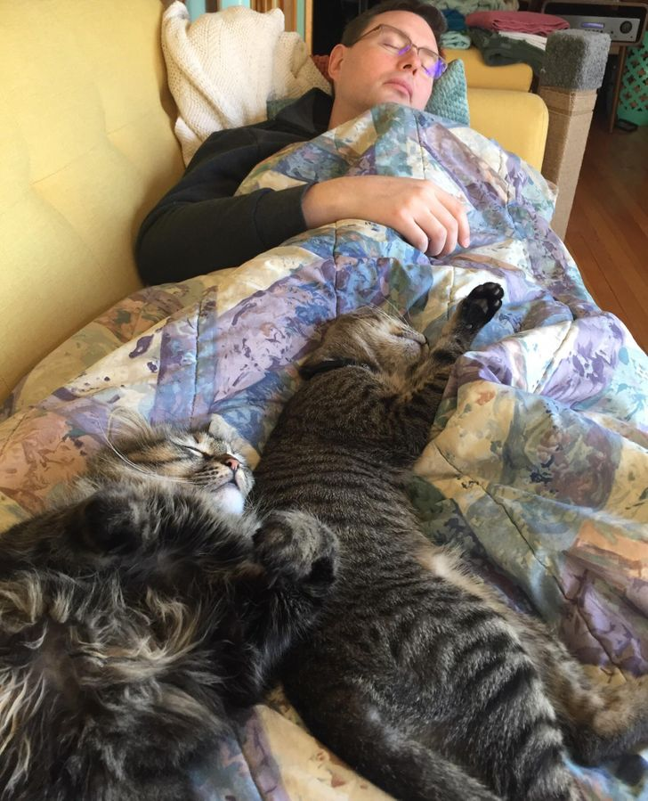 20 Times When Men Didn't Want to Have Pets but Then Couldn't Live Without Them