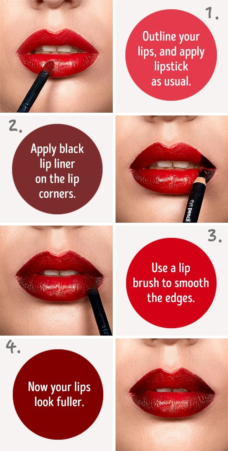 11 Simple Tricks That Will Make Your Lips Look Fuller