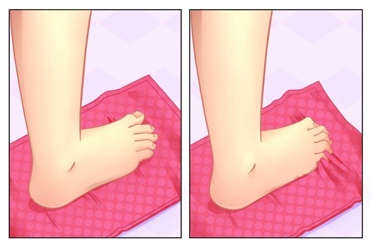 Gün Boyunca Taşıdıktan Sonra Ayaklarınıza Bakmanın 7 Yolu