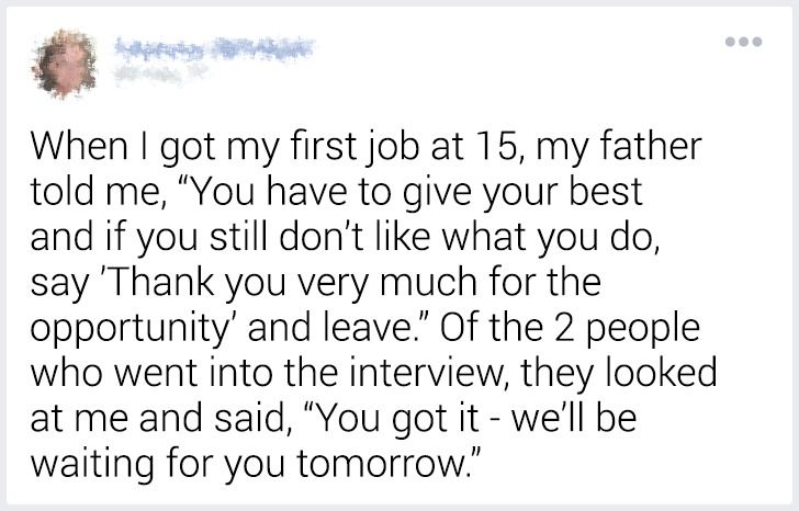 Our Readers Shared How Their Parents Worked to Give Them a Better Future