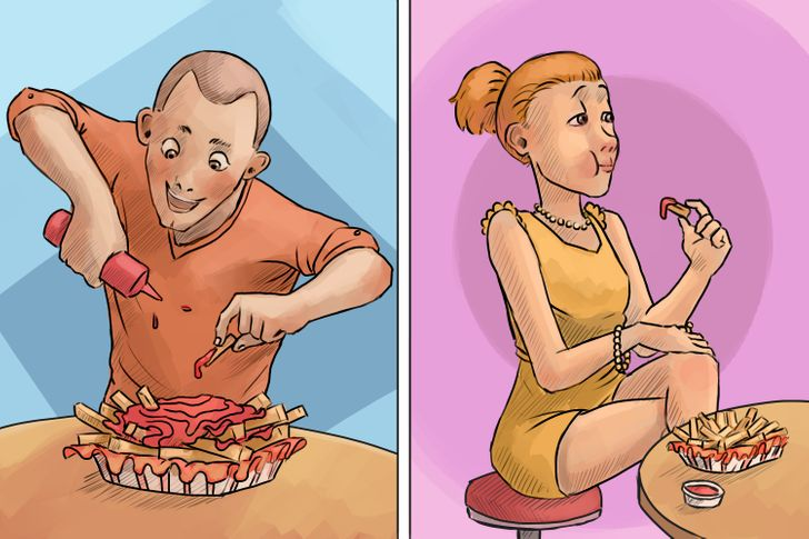 20 Illustrations Proving That There Are Only 2 Kinds of People in the World