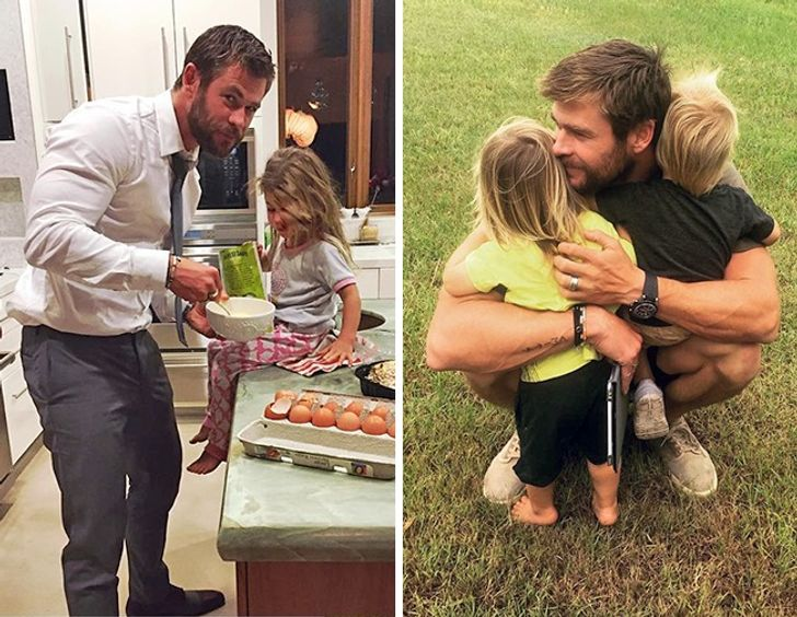11Celebrity Fathers Who Adore Their Children