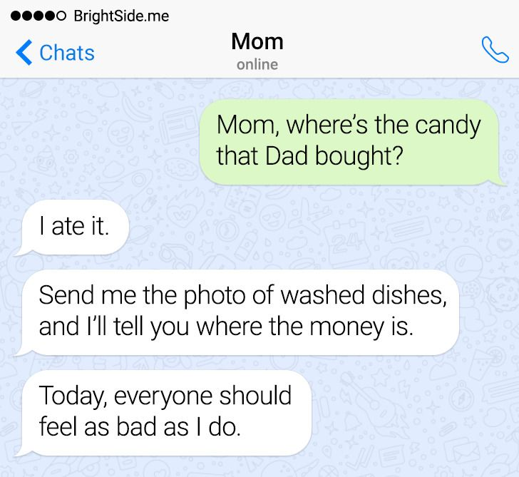15 Witty Texts From Parents Who Have a Way With Words