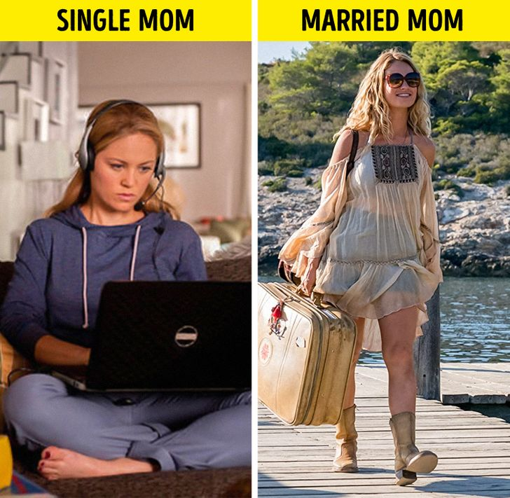 Research Says Single Moms Do Less Chores and Sleep More Than Married Moms