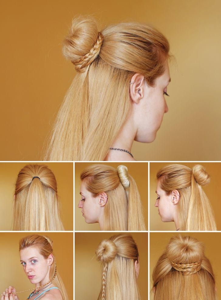 Havalı ve Kolay Saç Modeli Sadece 10 Dakikanızı Alacak...