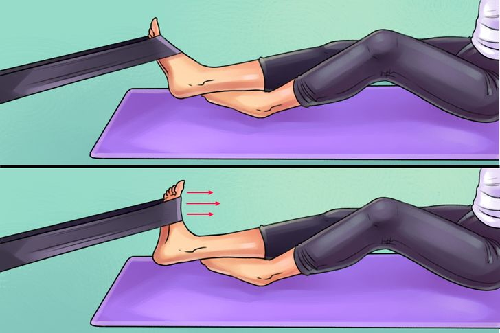 IfYou Suffer From Foot, Knee, orHip Pain, Here Are6 Exercises toKill It