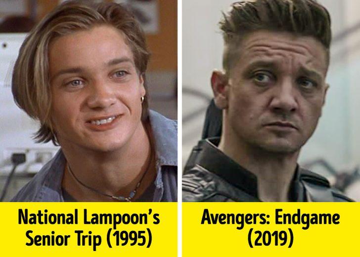 19 Superbohaterów, którzy wyglądali zupełnie inaczej, kiedy zaczynali karierę filmową