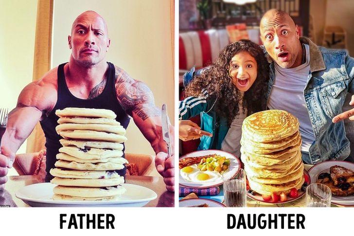 Vedci tvrdia, že väčšina ľudí je viac podobná svojmu otcovi ako ich matke