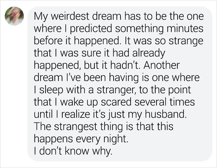 20 Bright Side Readers Talked About Their Strangest Dreams