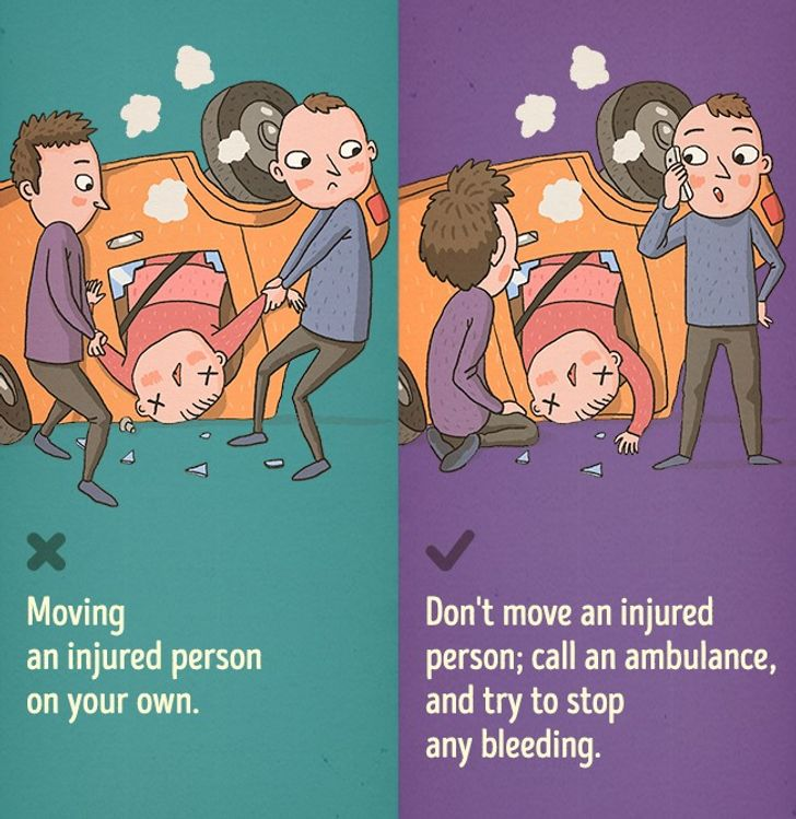 9First Aid Mistakes Explained byaProfessional
