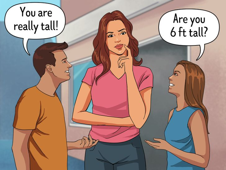 15+ Situations That Only Tall Girls Can Understand
