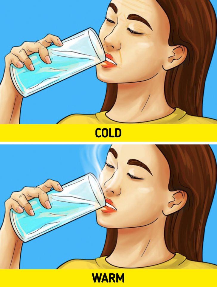 Manfaat air hangat untuk membersihkan kulit