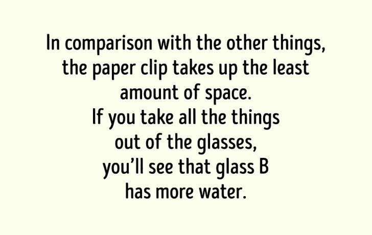 water puzzle answer
