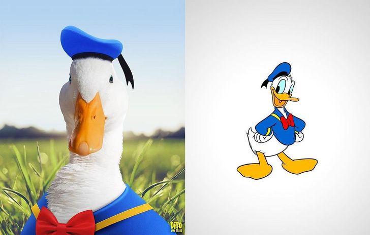 Umelec pretvoril naše kreslené postavičky z detstva ako skutočné bytosti