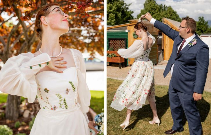 14 Chic Brides Who Weren't Afraid to Ditch the Traditional Wedding Dress and Stick to Their Style