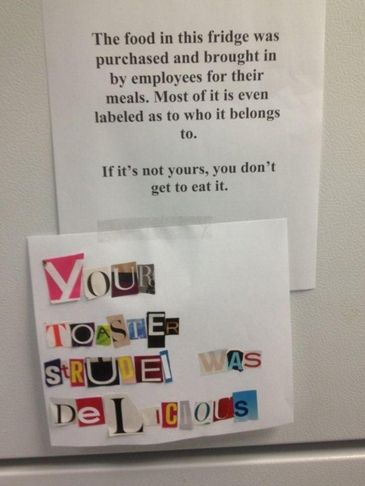 22 Passive Aggressive Notes That Are So Good, It's Hard to Be Mad