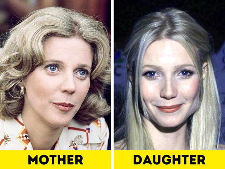 What Moms of Gorgeous Celebrities Looked Like When They Were Young