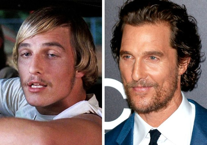 Look How These18 Actors Changed Since Their First Roles