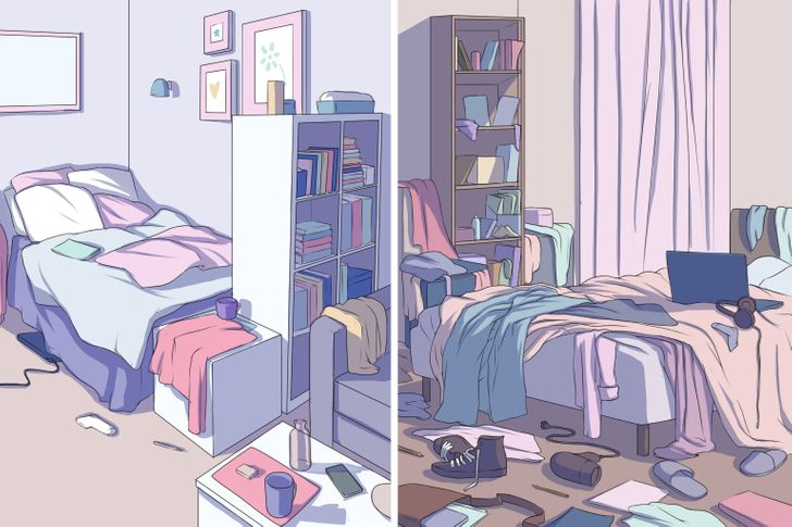 8Hidden Psychological Problems aMessy Home Can Reveal About Us