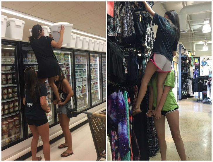 13situations that only short girls can relate to