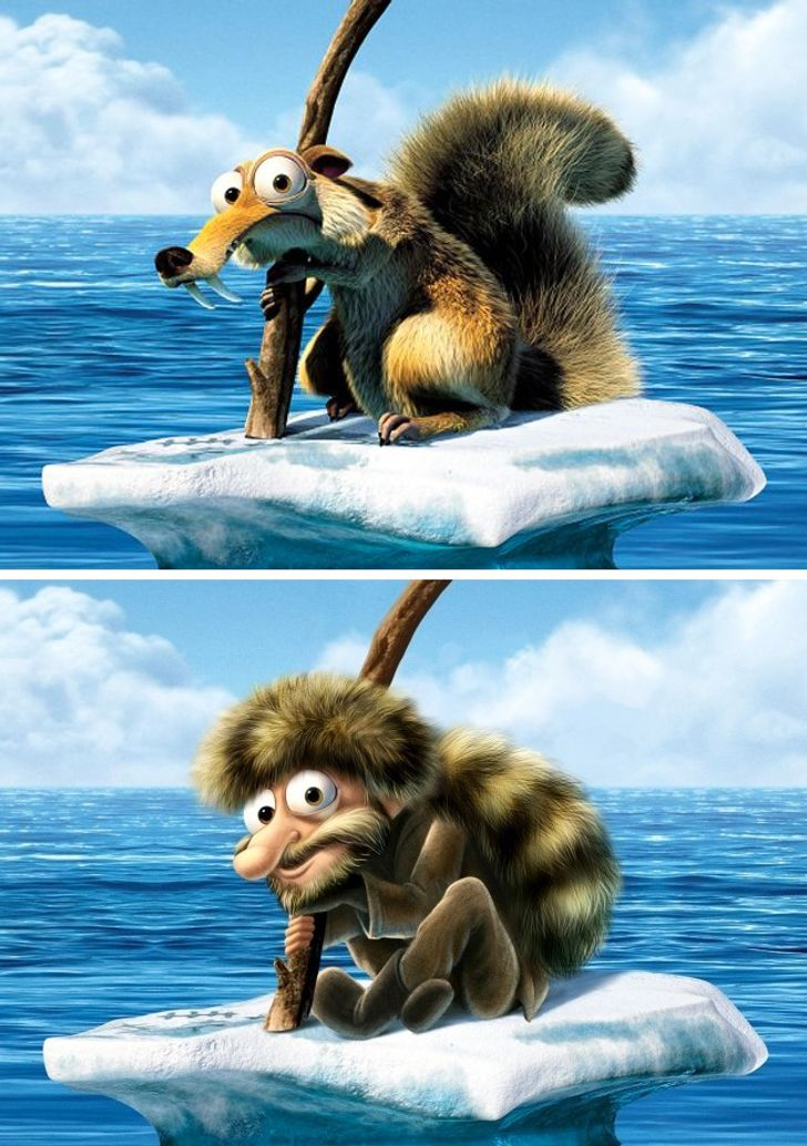 What the Animals From Animated Movies Would Look Like if They Were People