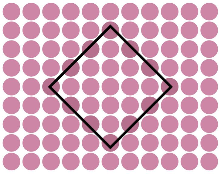 Did you find the rhombus? Solution 5 of 15.