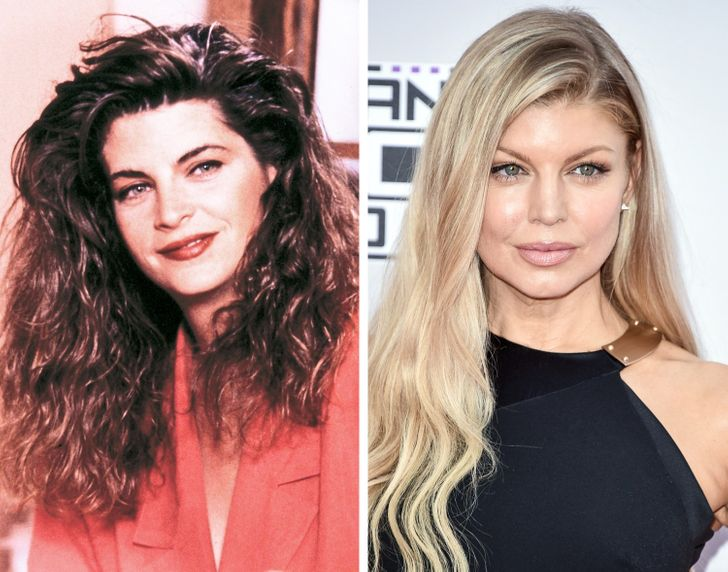 What 19 Stars of the Old and the New Generations Looked Like at the Same Age