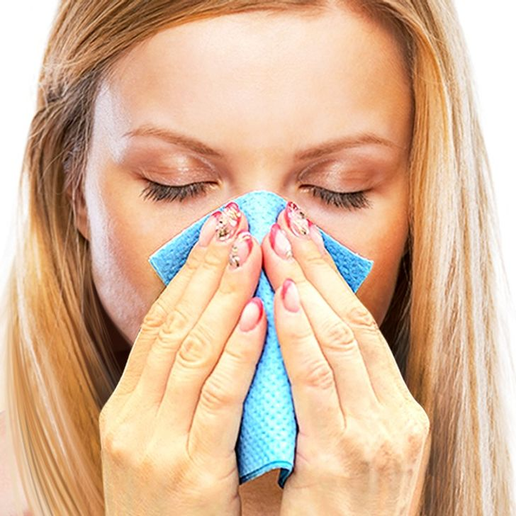 How toGet Rid ofYour Stuffy Nose inJust15 Minutes