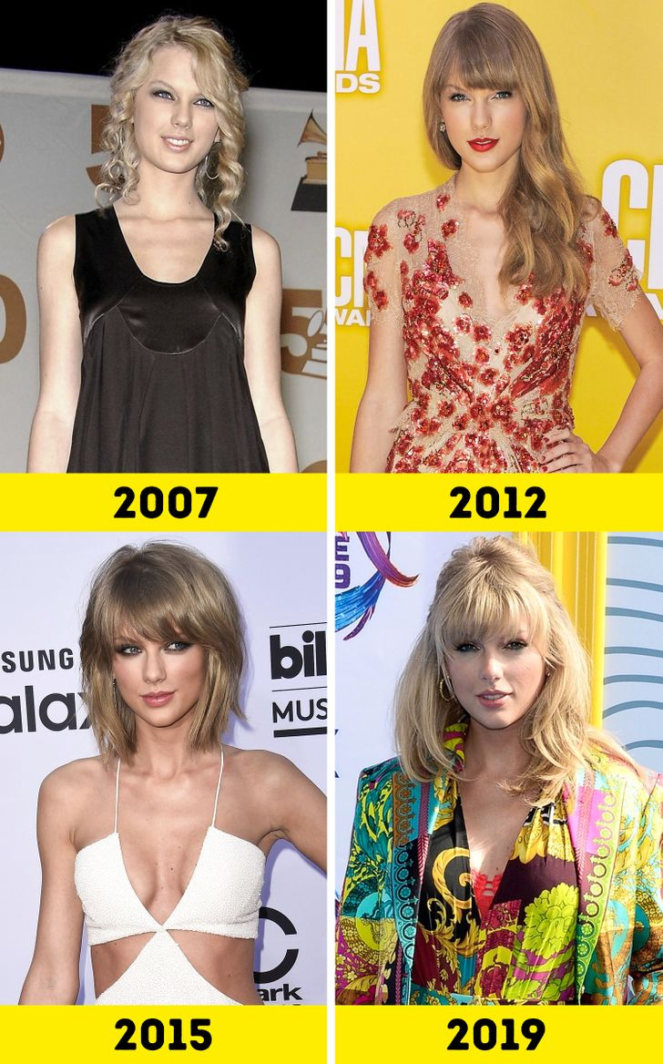How 15 Iconic Singers Changed Over the Years