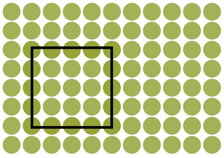 Did you manage to see the square? Solution 2 of 15.