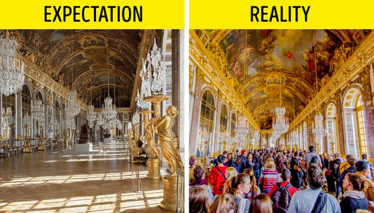12 Famous Places That Don't Look Like We Expected