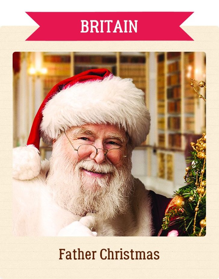 What Santa Claus IsCalled inDifferent Countries Around the World