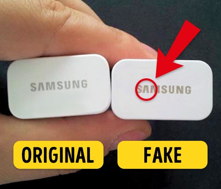 6Tips toHelp You Recognize Fake Gadgets
