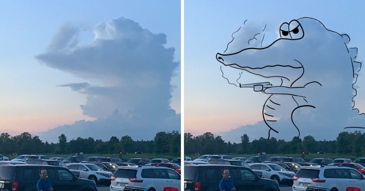 20 Times Clouds Turned the Skies Into a Theater Stage