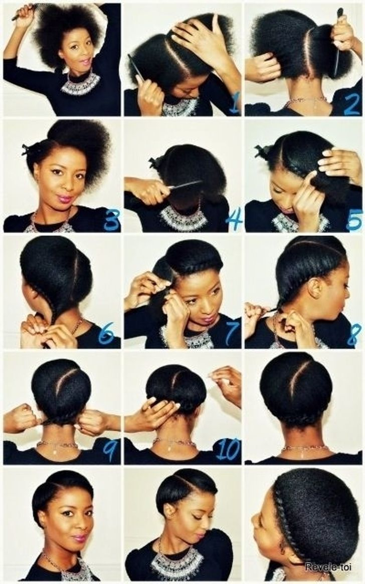 14 Fantastic Hairstyle Tutorials For Short And Naturally Curly Hair