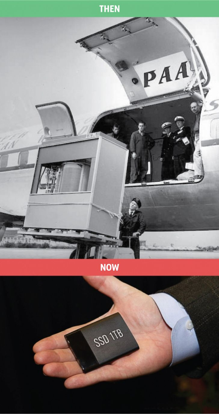 Then vs. Now: ten pictures that show how times have changed