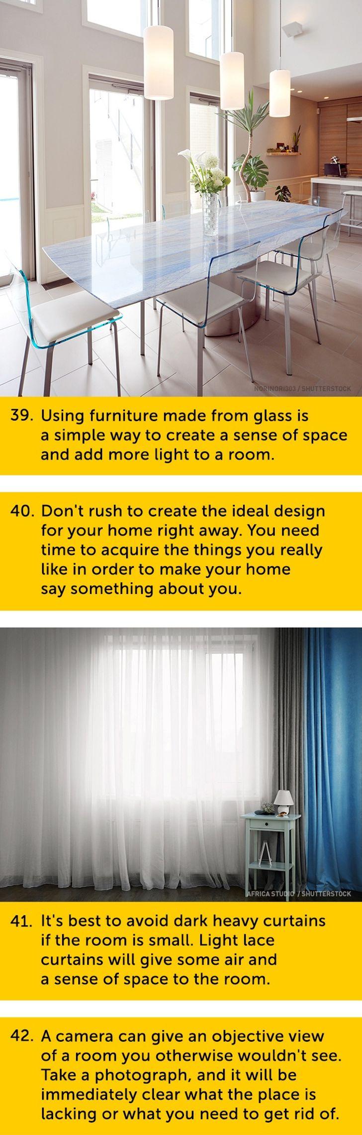 101 Superb Pieces ofInterior Design Advice