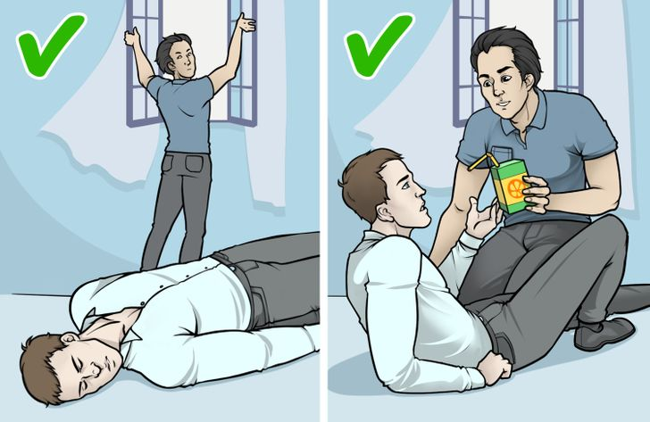 What to Do If Someone Faints Next to You