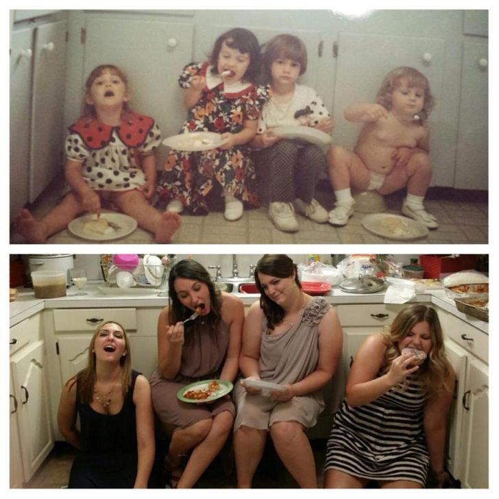 19Pictures Showing How Time Changes— But Love Doesn't