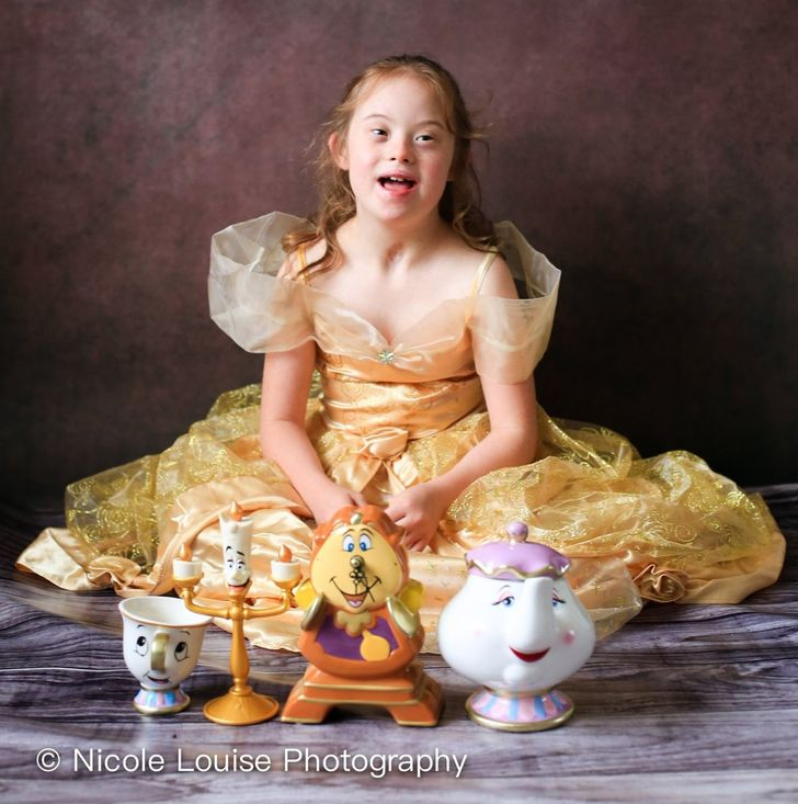 Kids With Down Syndrome Pose as Their Favorite Disney Characters, and They Look Even Cuter Than the Originals
