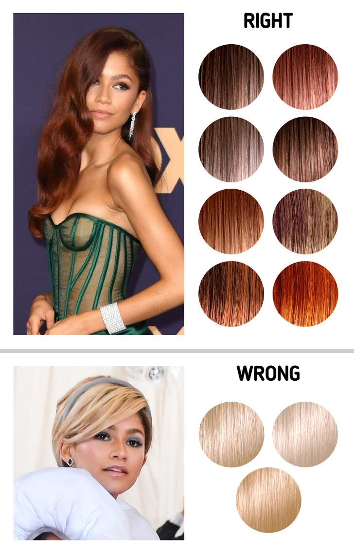 A Complete Guide To Choosing The Best Hair Color According To Your Skin Tone